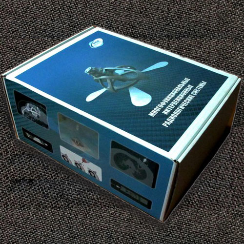 Изделие МИРС с принадлежностями в коробке